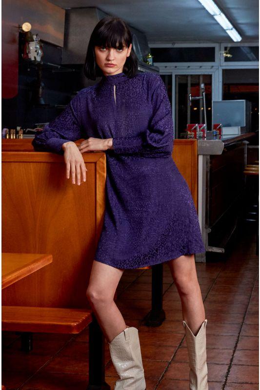 Manschetten-Kleid