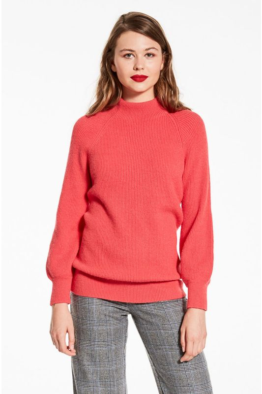 Strick-Pullover in Pink