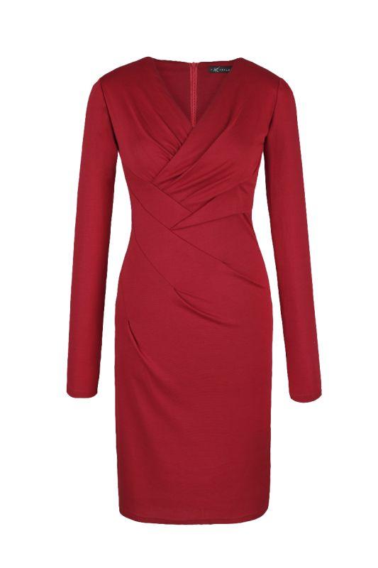 Jersey Kleid in Rot