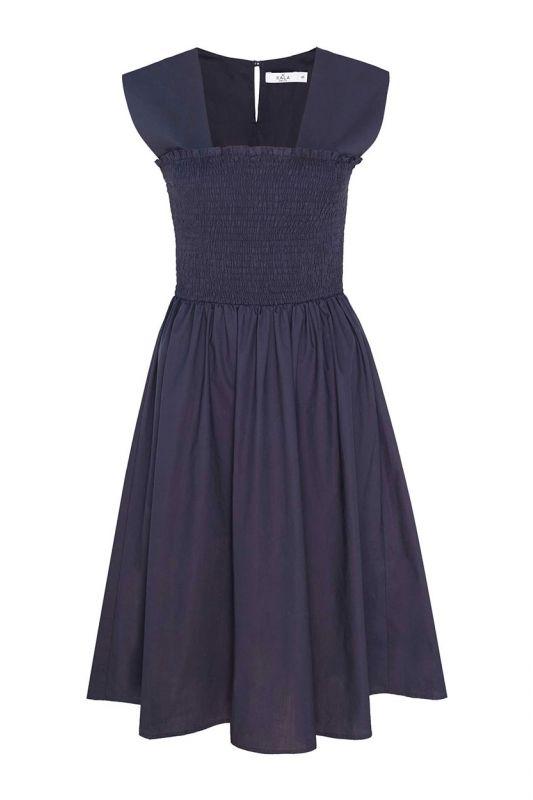 Sommerkleid mit extra breiten Trägern
