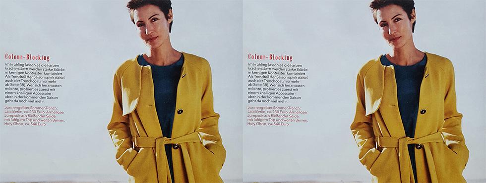 Jetzt in den Modezeitschriften: Kollektion Frühling/Sommer 2016