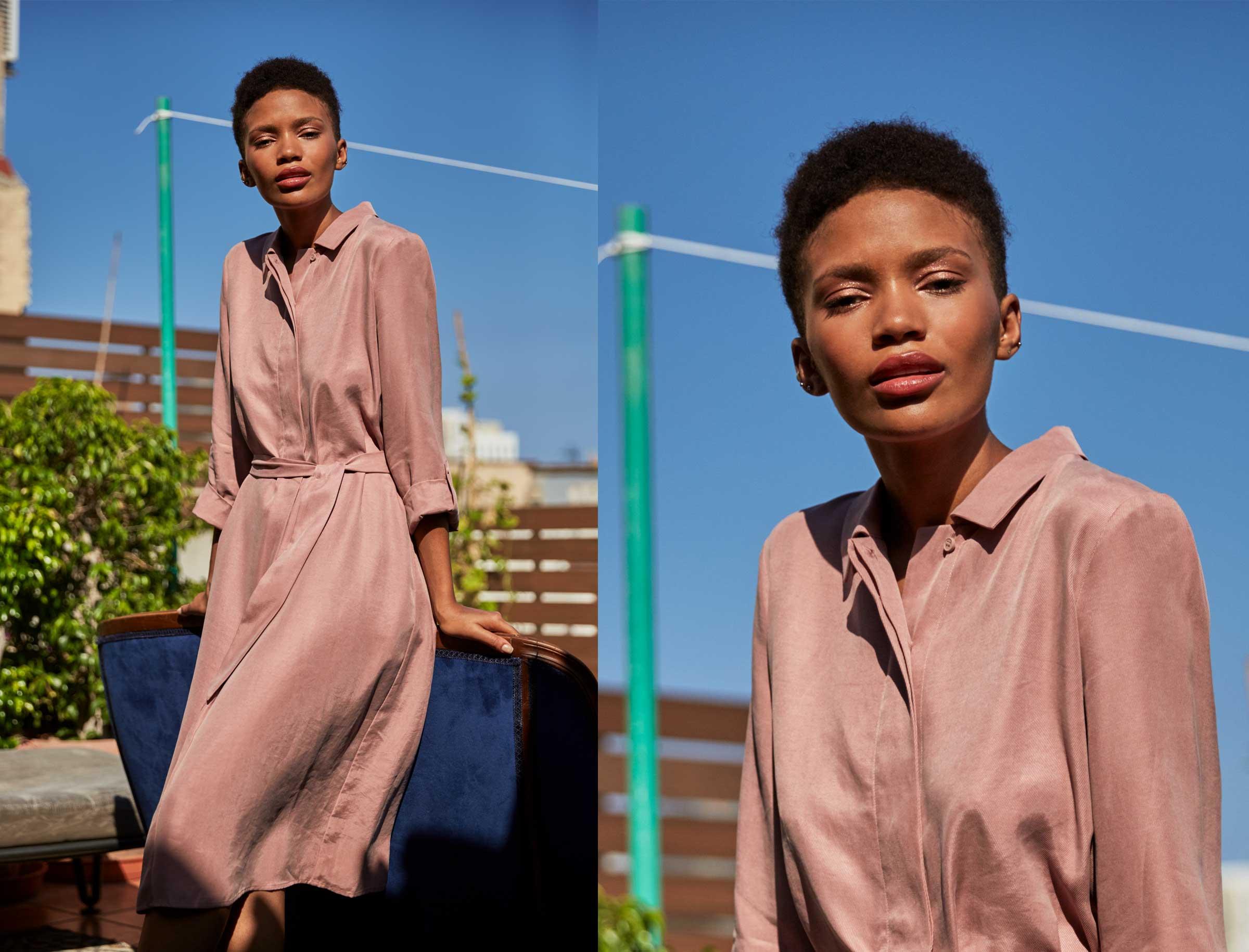 Smart, chic und luftigleicht – Das Hemdblusenkleid